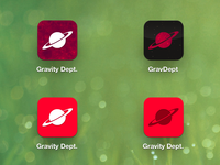 GravDept iOS Icons