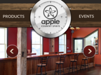 Apple Country Spirits Website (Teaser)