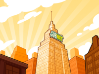 Subway - Super Hero Breakfast - Background 01