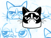 Grumpy Cat Icon