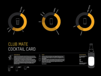 Club-Mate Cocktail Card