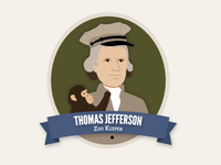 Thomas Jefferson As a Zoo Keeper