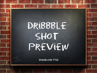Dribbble Shot Preview 1.1