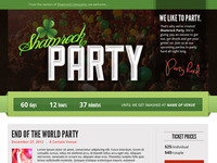 Shamrock Party Website