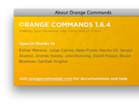 About Orange Commands