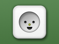 Happy Wall Socket