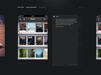 It's alive! My new portfolio page