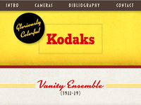 Gloriously Colorful Kodaks