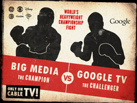 Google TV vs. Big Media