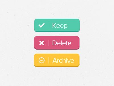 Keep button by Jas Jassal