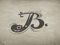 J+B Wedding Monogram