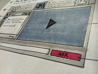UI Sketch - Wireframe