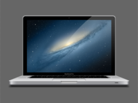 MacBook Pro (Vector PSD)