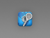 1Password 4 iOS icon redesign (reject)