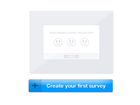Create your first survey