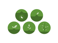 Plant growth badges