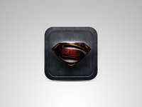 Superman Man of Steel App icon