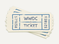 Old WWDC Tickets