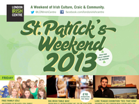St. Patrick's Weekend - Event Poster (final)