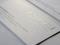 Tzafora Business Card