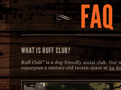 Ruff-club-faq