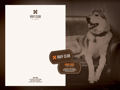 Ruffclub-stationery