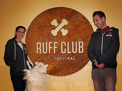 Ruff-club-sign