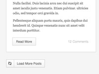 Blog Load More Button