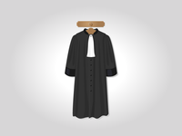 French lawyer robe