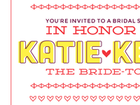 Bridal Shower Invite Set