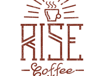 And another Rise Coffee Logo Concept