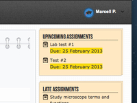 Assignments Dashboard