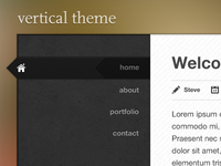 Generic blog theme