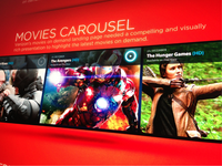 Movie Carousel