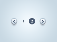 Pagination UI & PSD