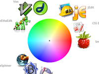 OS X Editor colour wheel
