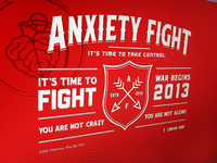 Anxiety Fight Splash Page