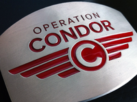 Operation Condor Belt Buckles