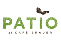 Patio at Cafe Brauer logo