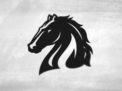 Horse logo: dribbble.com/shots/410419-Horse-logo