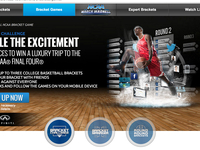 NCAA Bracket Games Landing Page for CBSSports.com