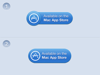 Mac App Store Button