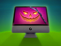 CleanMyMac Halloween Theme