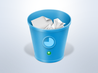 Trash Status Monitor Icon