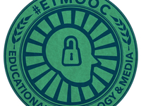Work in Progress. #etmooc logo/badge.