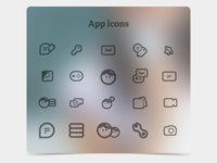 Galaxee Icons at work