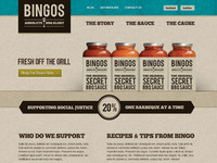 Bingos Home Page Rough