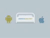 Android Adultery Illustration