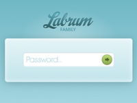 Family Blog Login
