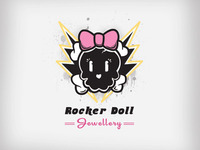 Rocker Doll Logo